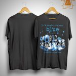 In November We Wear Blue Diabetes Awareness Shirt