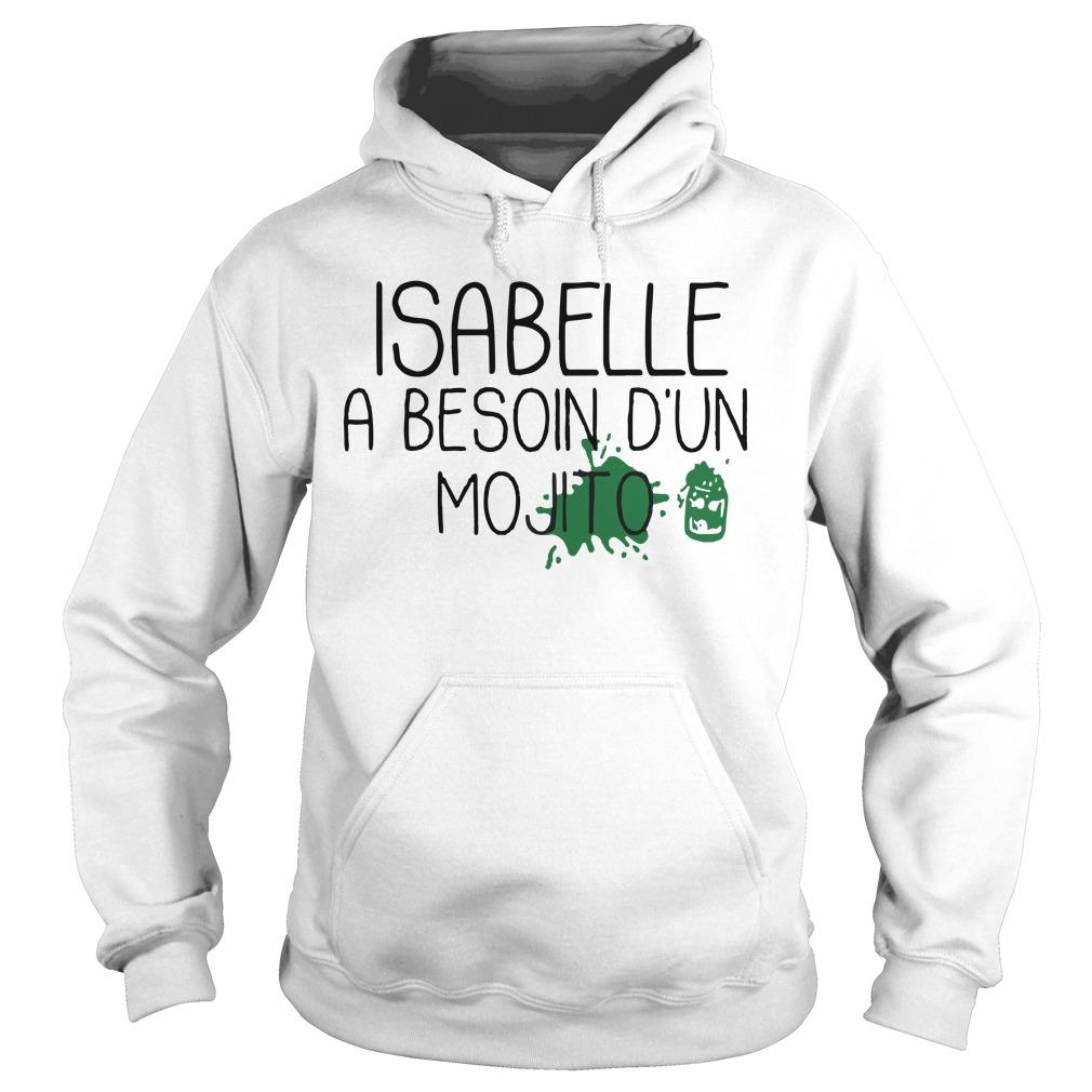 Isabelle A Besoin D'un Mojito Hoodie