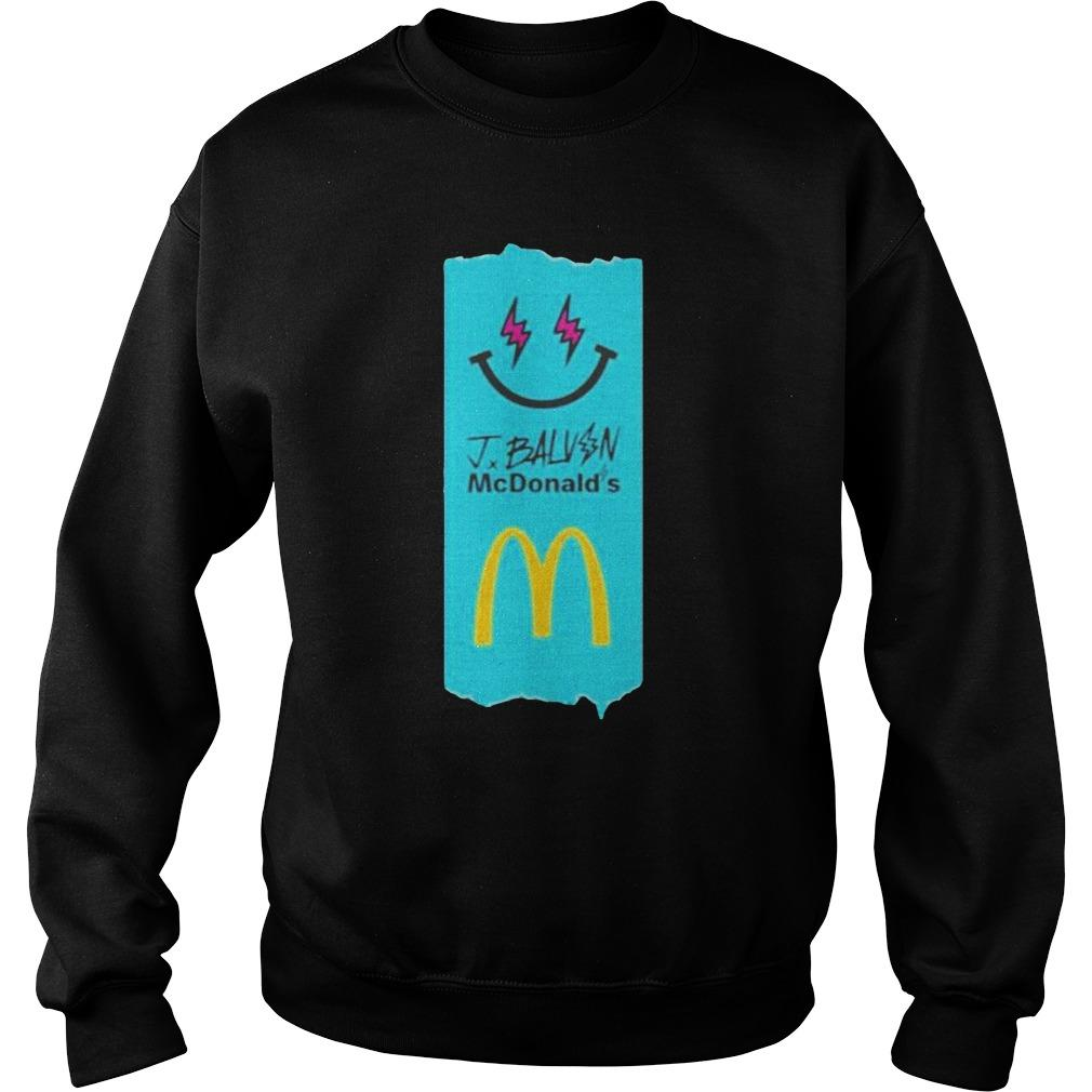 J Balvin Mcdonalds Sweater