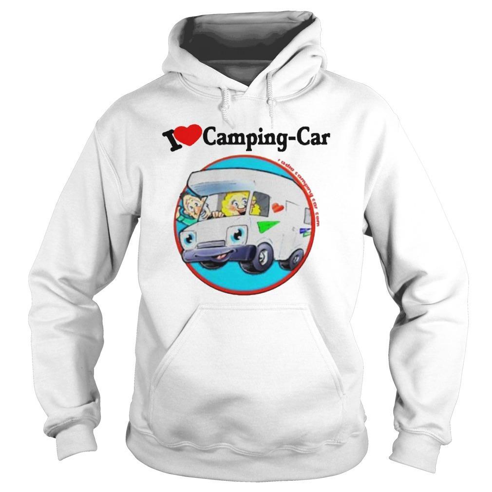 Jaime I Love Camping Car Hoodie
