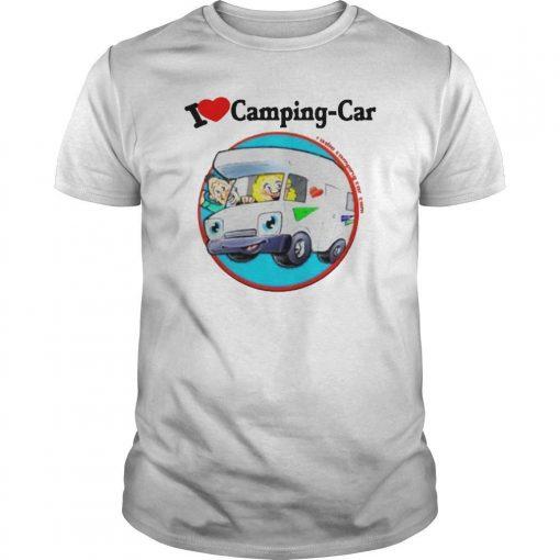 Jaime I Love Camping Car Shirt