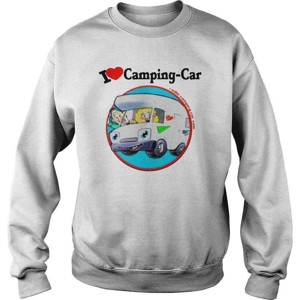 Jaime I Love Camping Car Sweater