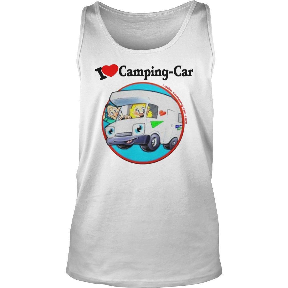 Jaime I Love Camping Car Tank Top