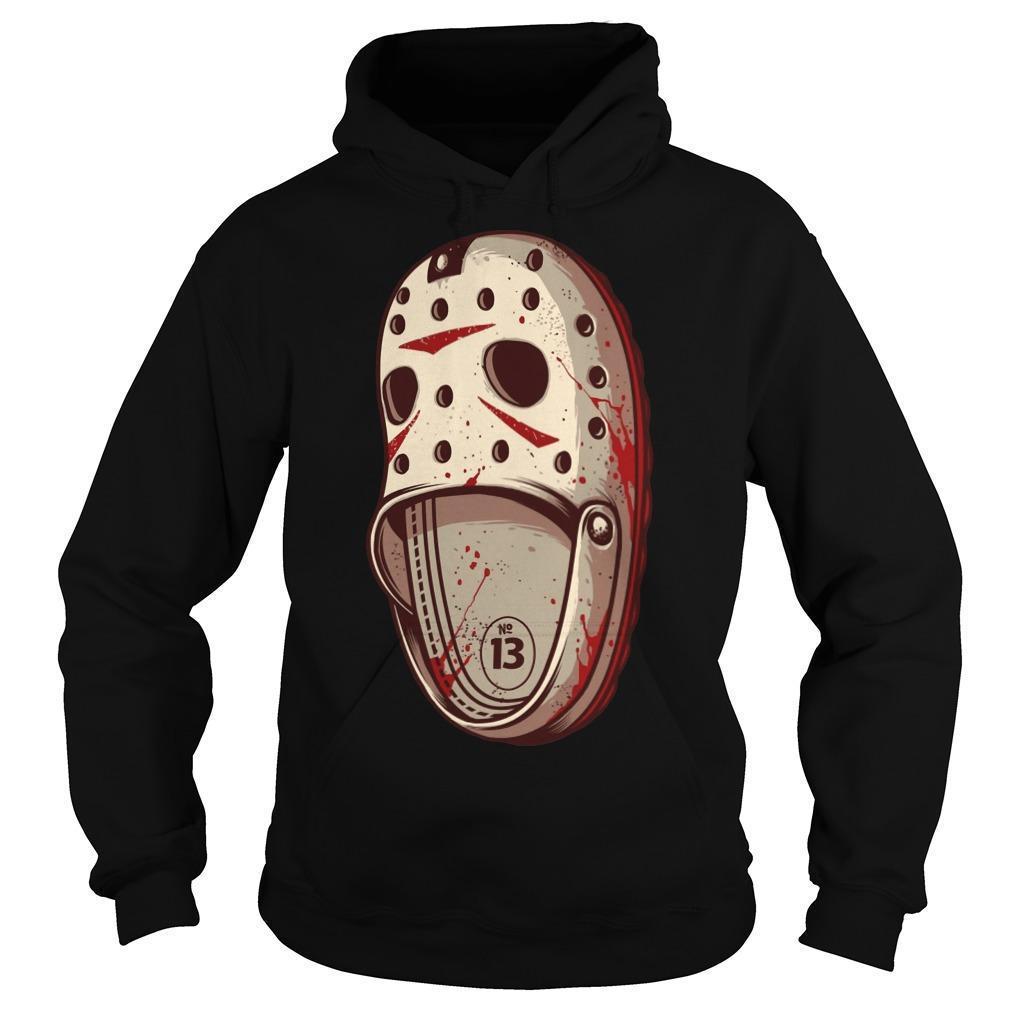 Jason Voorhees Crocs Hoodie