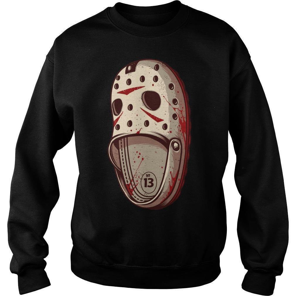 Jason Voorhees Crocs Sweater
