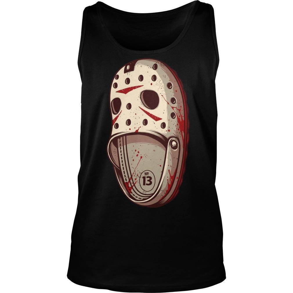 Jason Voorhees Crocs Tank Top