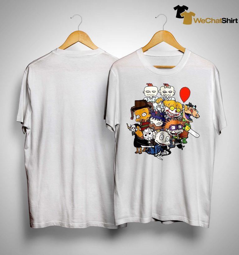 Jason Voorhees Pennywise Horruga Shirt