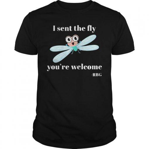 Kamala I Sent The Dly You Are Welcome RBG Shirt