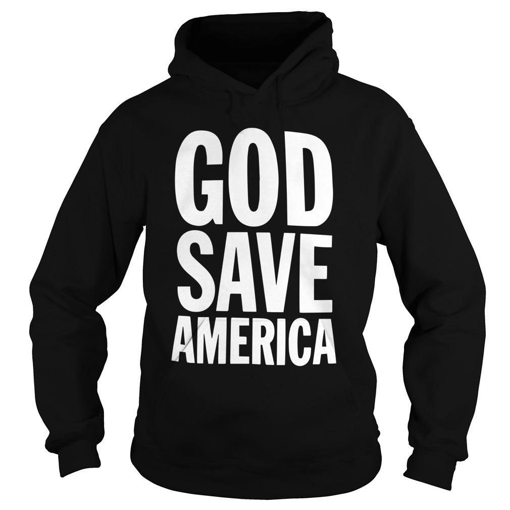 Kanye West God Save America T Hoodie