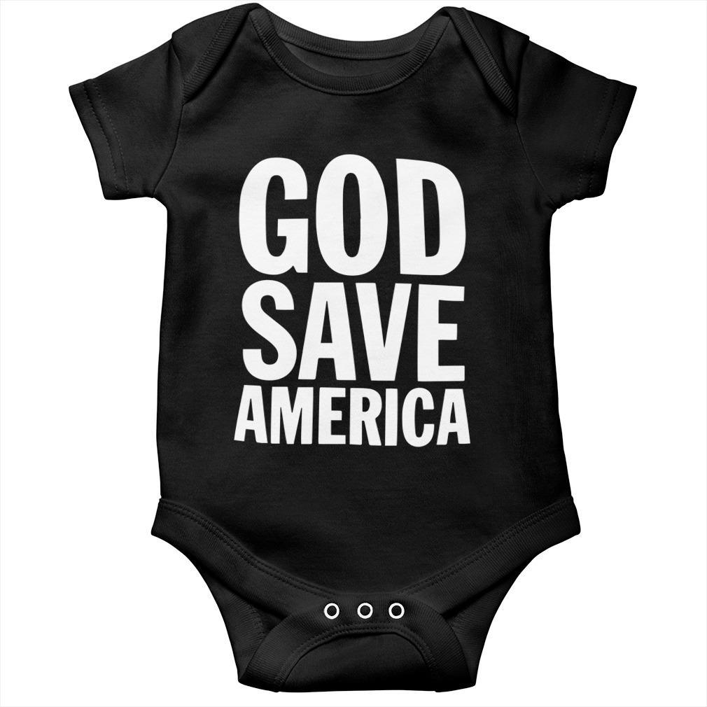 Kanye West God Save America T Longsleeve