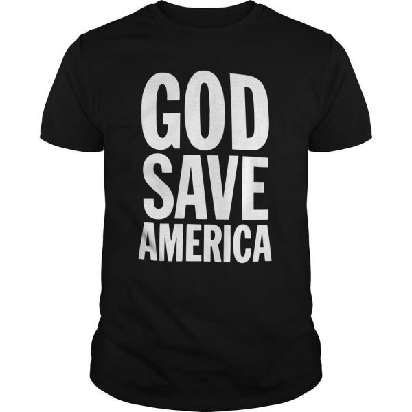 Kanye West God Save America T Shirt