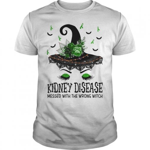 Kidney Disease Messed With The Wrong Witch Shirt