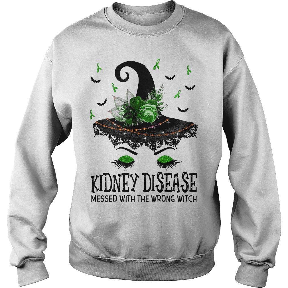 Kidney Disease Messed With The Wrong Witch Sweater