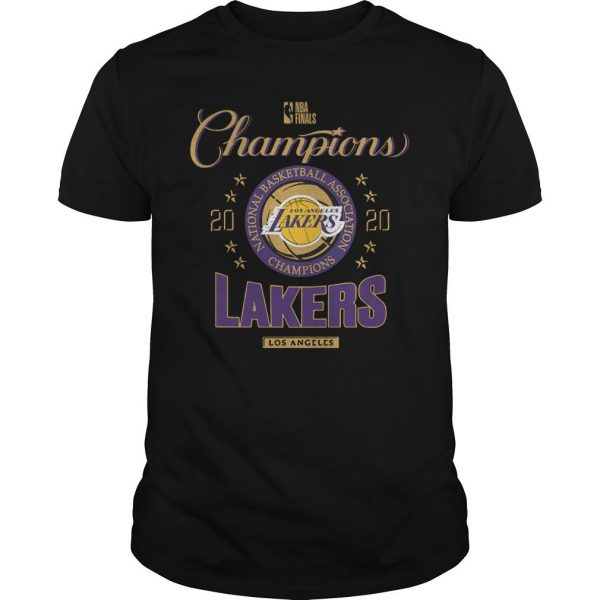 Lakers 2020 Champions Shirt