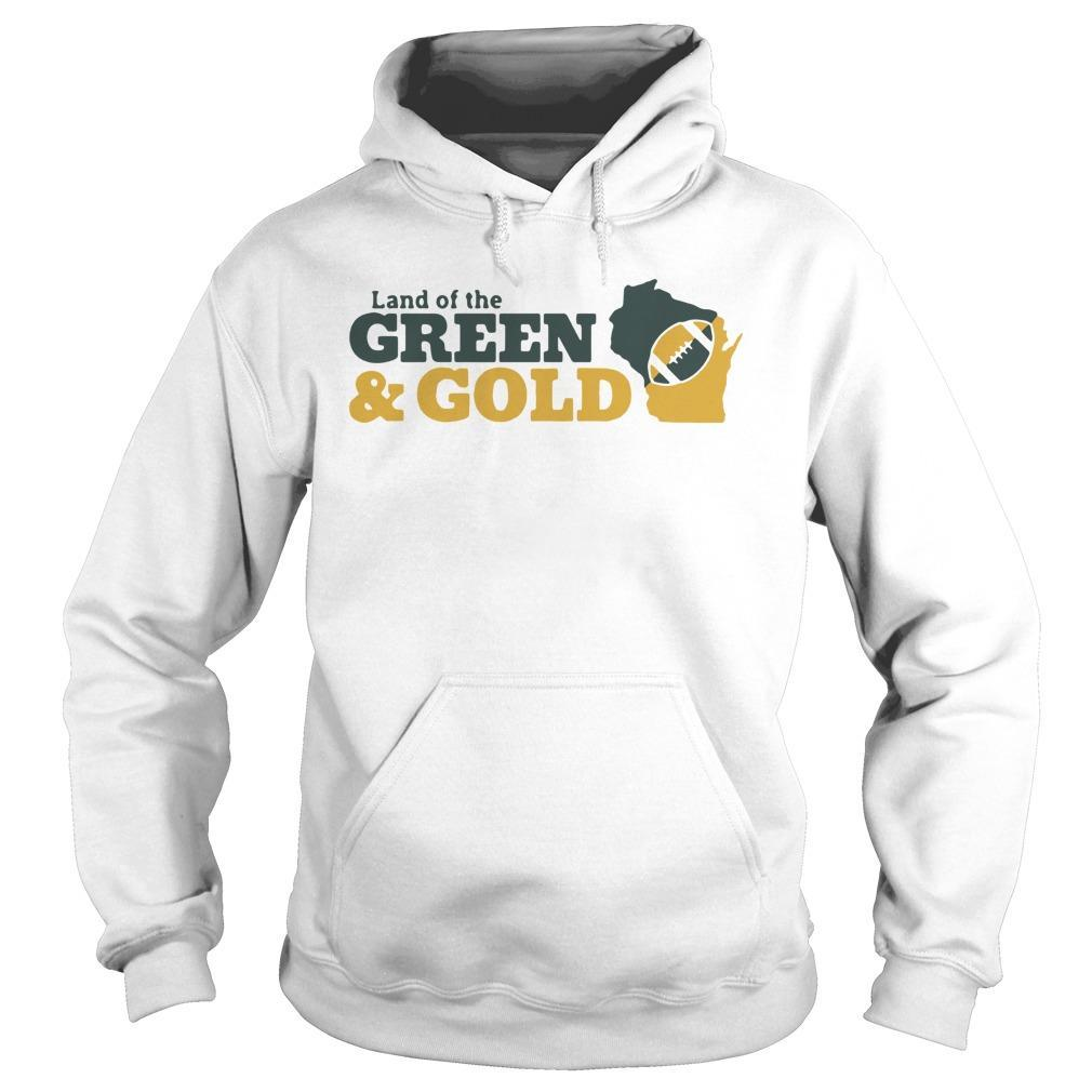 Land Of The Green And Gold Hoodie