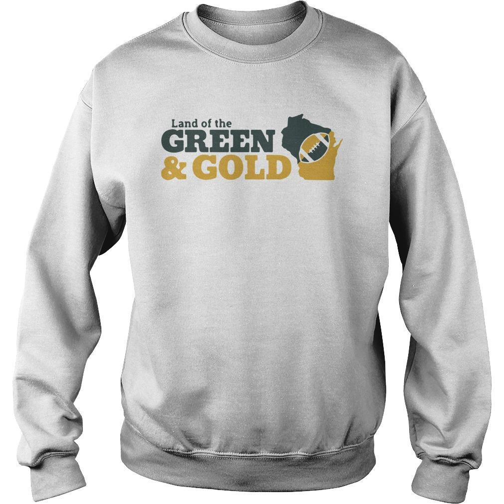 Land Of The Green And Gold Sweater