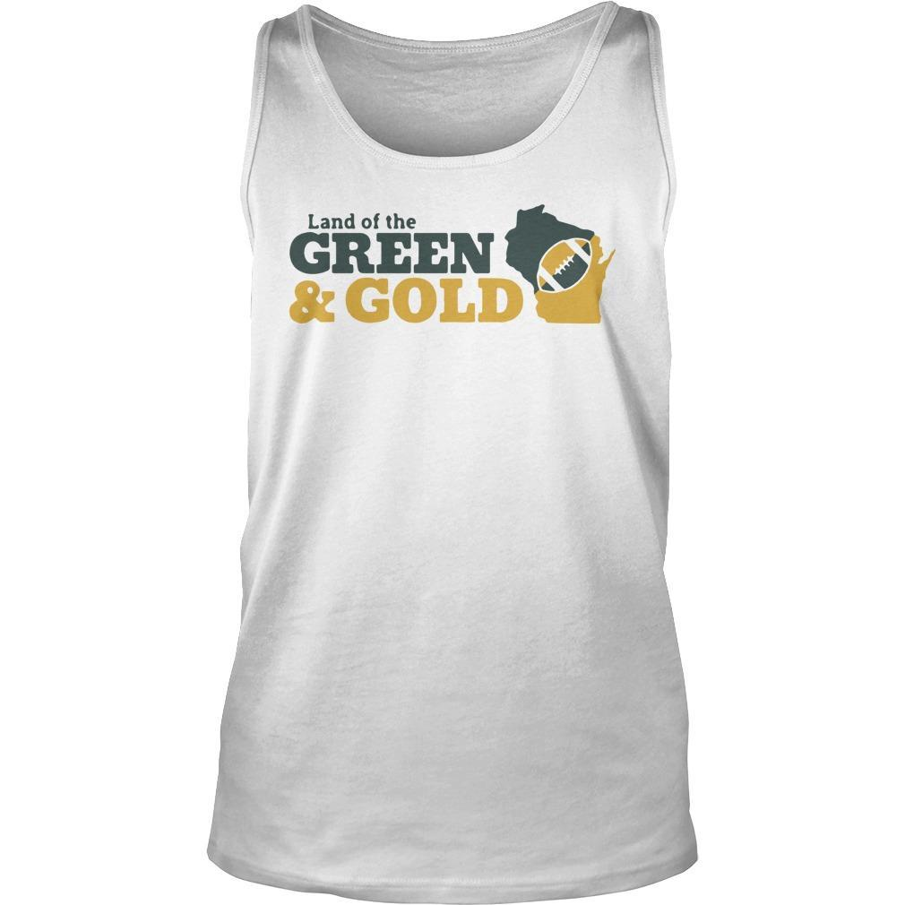 Land Of The Green And Gold Tank Top