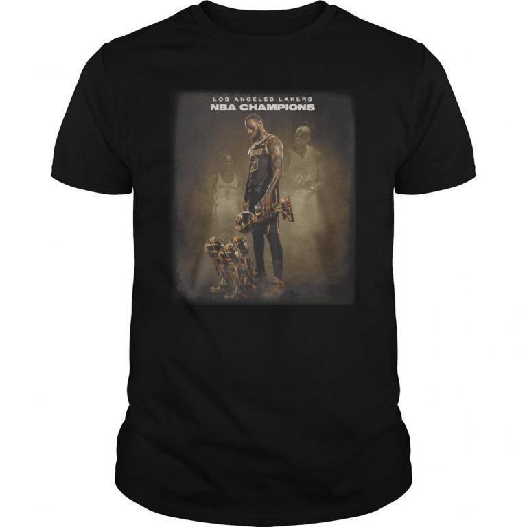 Lebron James Los Angeles Lakers Nba Champions Shirt
