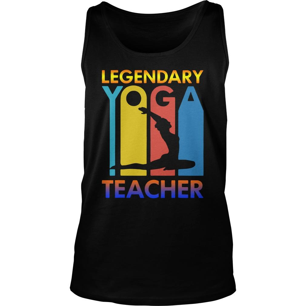 Legendary Yoga Teacher Tank Top