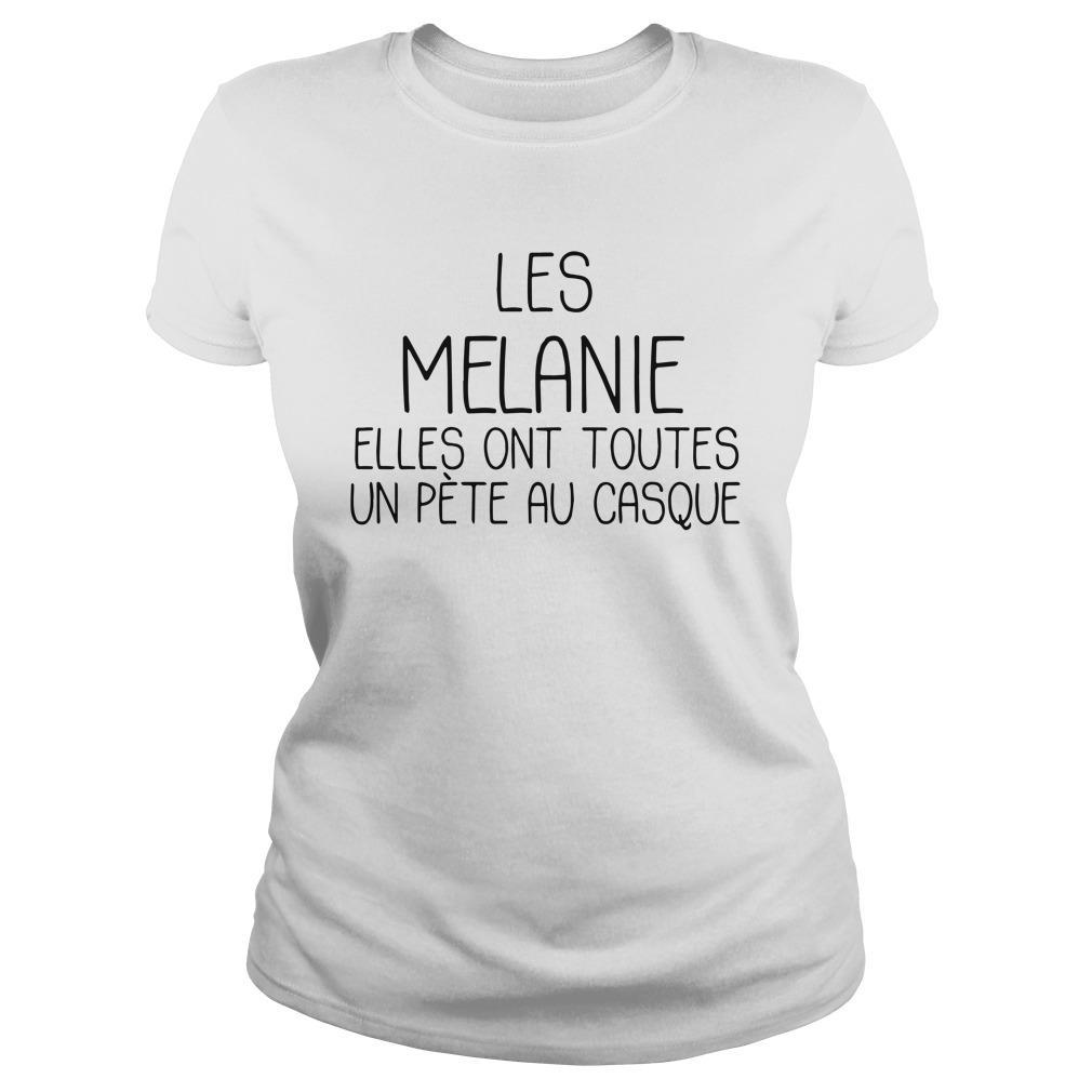 Les Melanie Elles Ont Toutes Un Pète Au Casque Longsleeve