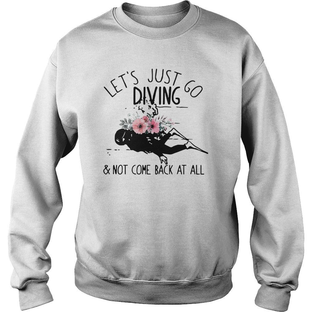 Let's Just Go Diving And Not Come Back At All Sweater