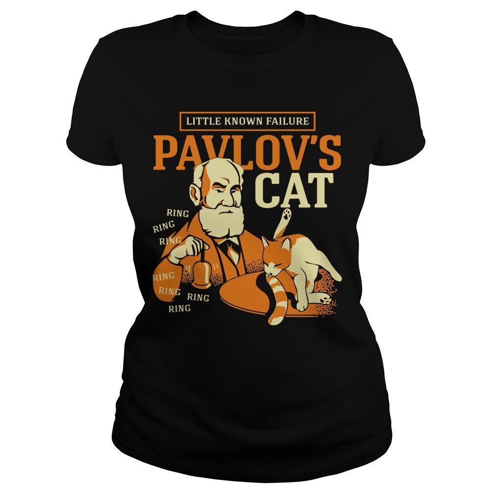 Little Known Failure Pavlov's Cat Longsleeve