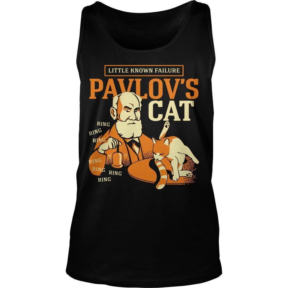 Little Known Failure Pavlov's Cat Tank Top