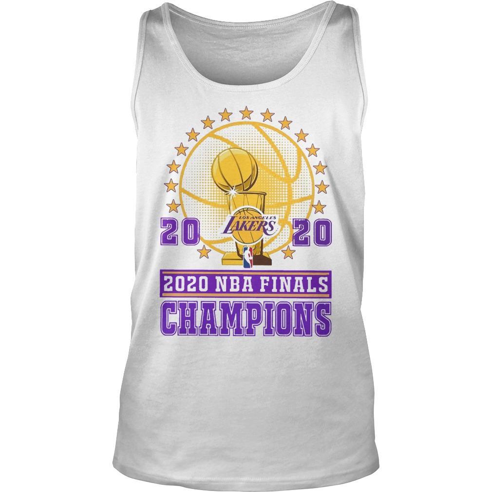 Los Angeles Lakers 2020 Nba Finals Champions Tank Top
