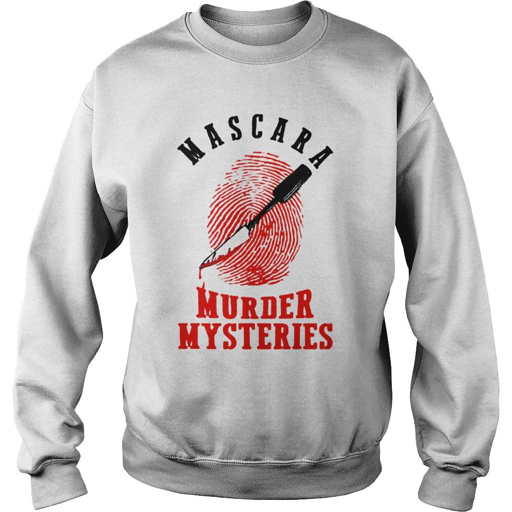 Mascara Murder Mysteries Sweater