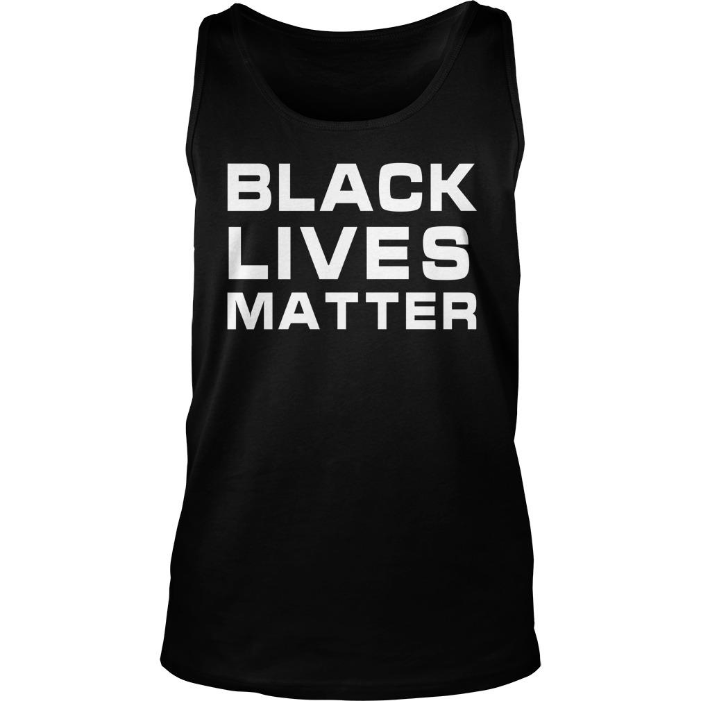 Memphis Poll Worker Black Lives Matter Tank Top