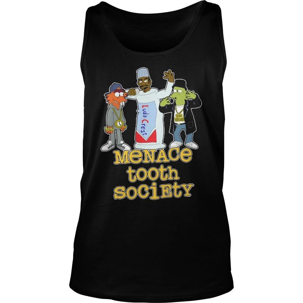 Menace Tooth Society Tank Top