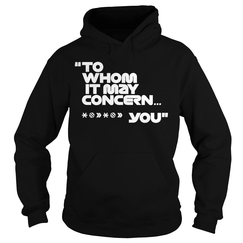 Mercedes-AMG F1 To Whom It May Concern T Hoodie