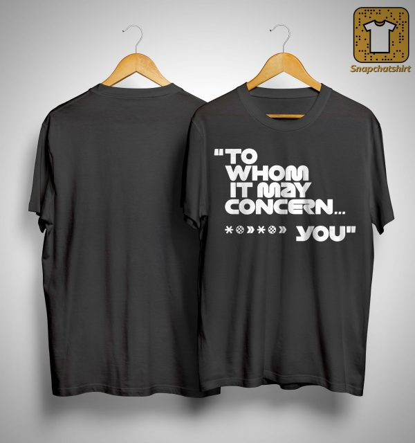 Mercedes-AMG F1 To Whom It May Concern T Shirt
