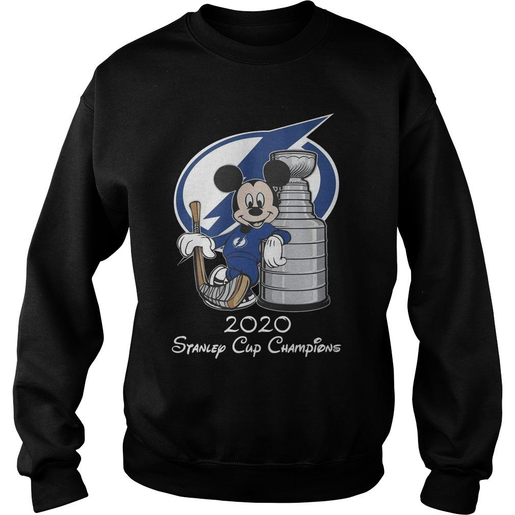 Mickey Mouse 2020 Stanley Cup Champions Sweater