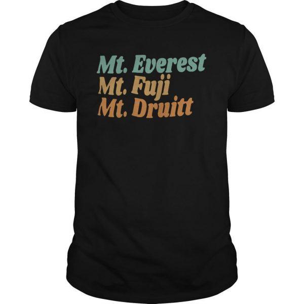 Mt Everest Mt Fuji Mt Druitt Shirt