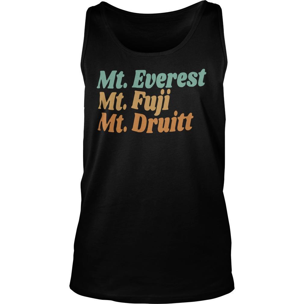 Mt Everest Mt Fuji Mt Druitt Tank Top
