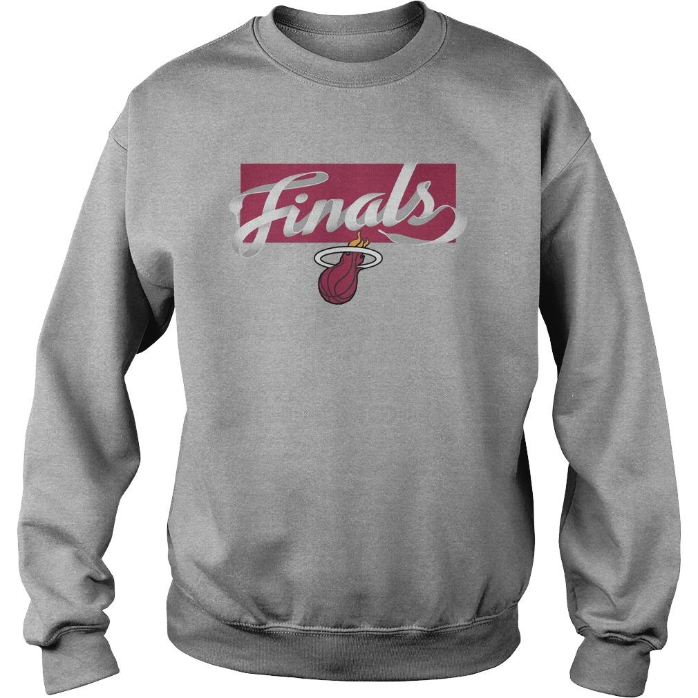 Nba Finals Bam Adebayo Miami Heat Championship T Sweater