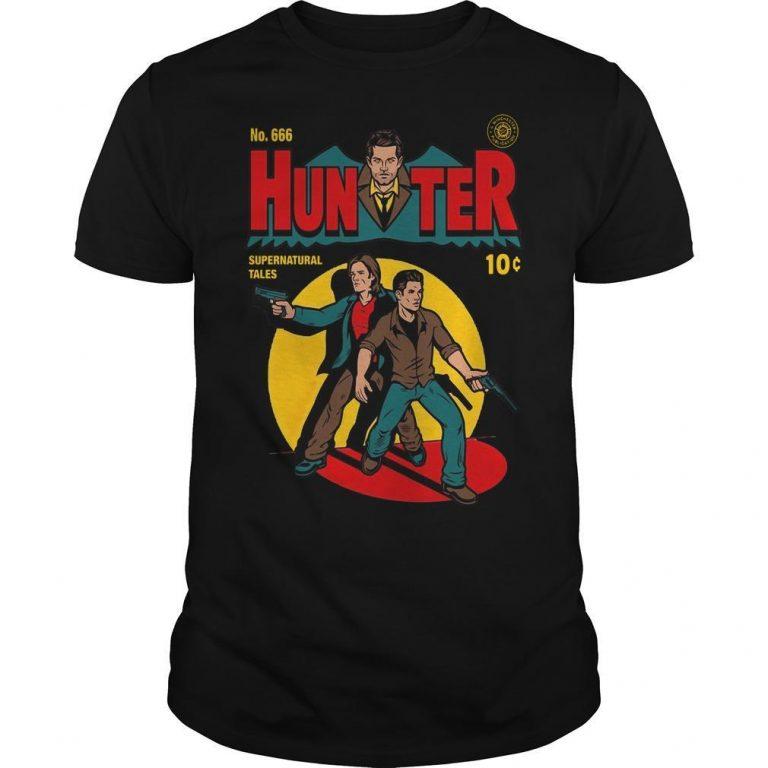 No 666 Hunter Supernatural Tales Shirt