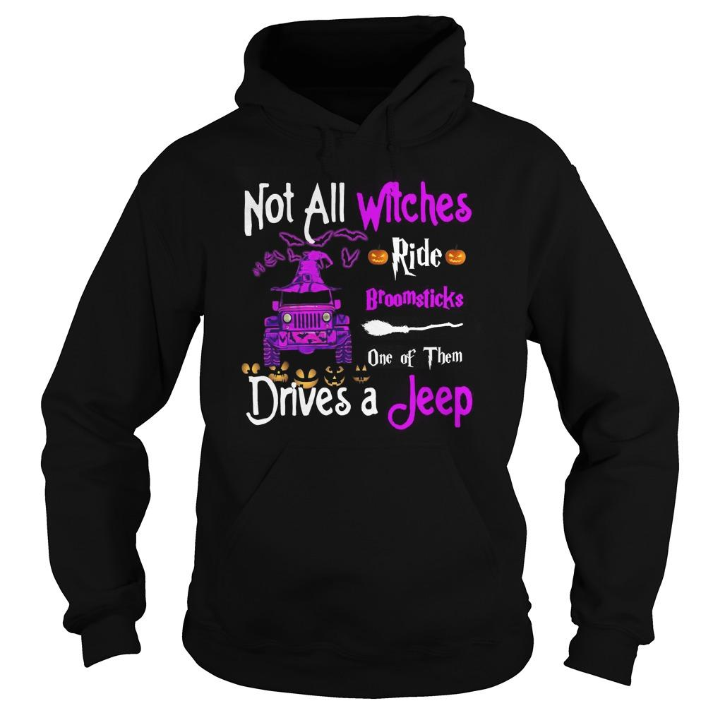 Not All Witches Ride Broomsticks One Of Them Drives A Jeep Hoodie