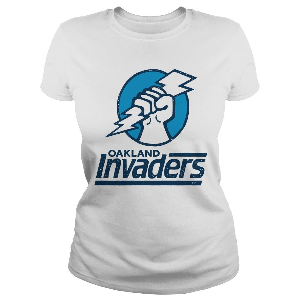 Oakland Invaders Longsleeve