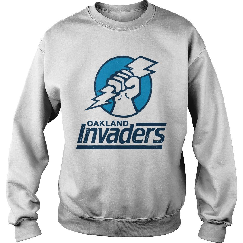 Oakland Invaders Sweater