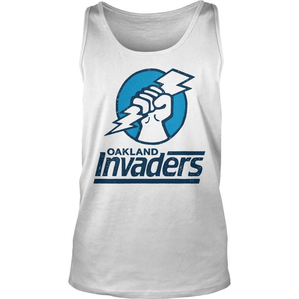 Oakland Invaders Tank Top