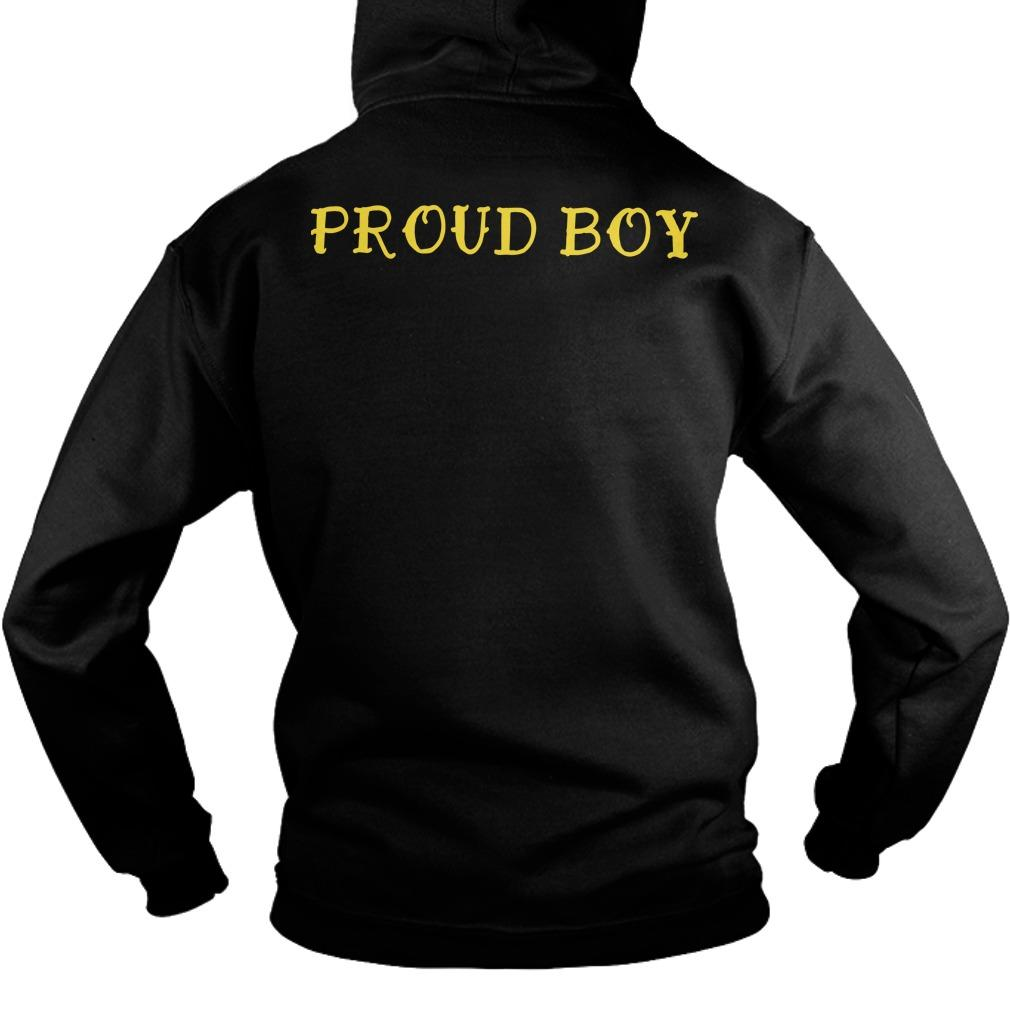Proud Boys Stand Down Stand By T Hoodie