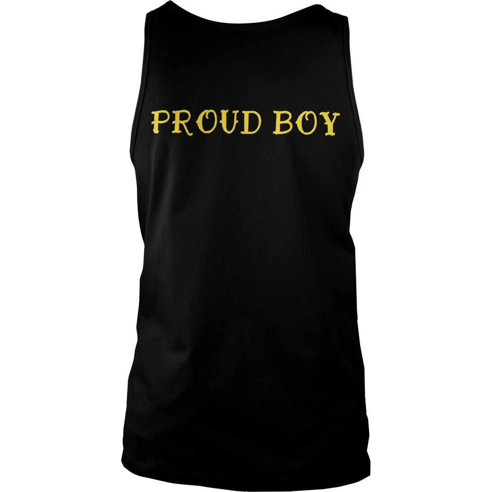 Proud Boys Stand Down Stand By T Tank Top