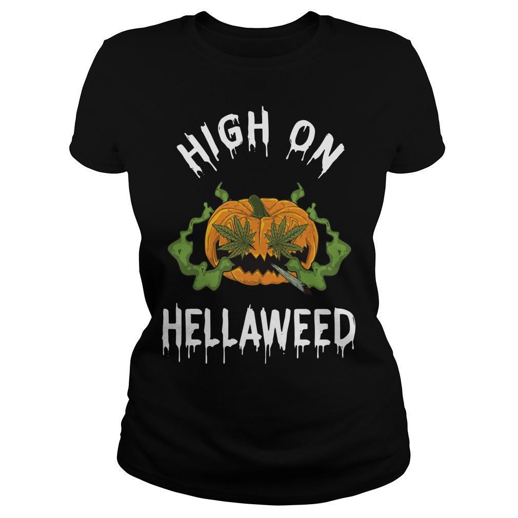 Pumpkin High On Hellaweed Longsleeve