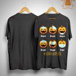 Pumpkin Wear Mask #teacherlife Shirt