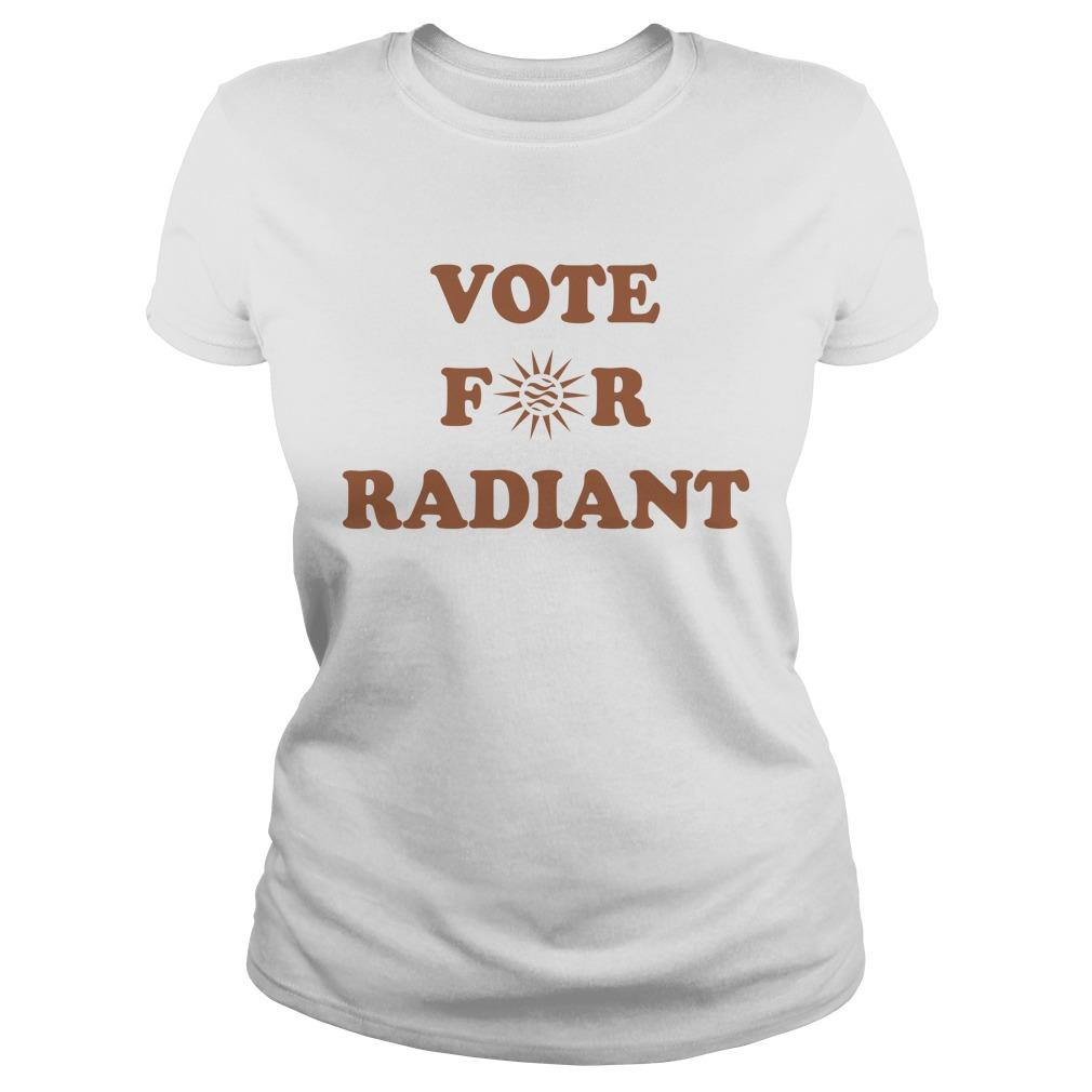 Radiant Plumbing And Air Conditioning Vote For Radiant Longsleeve