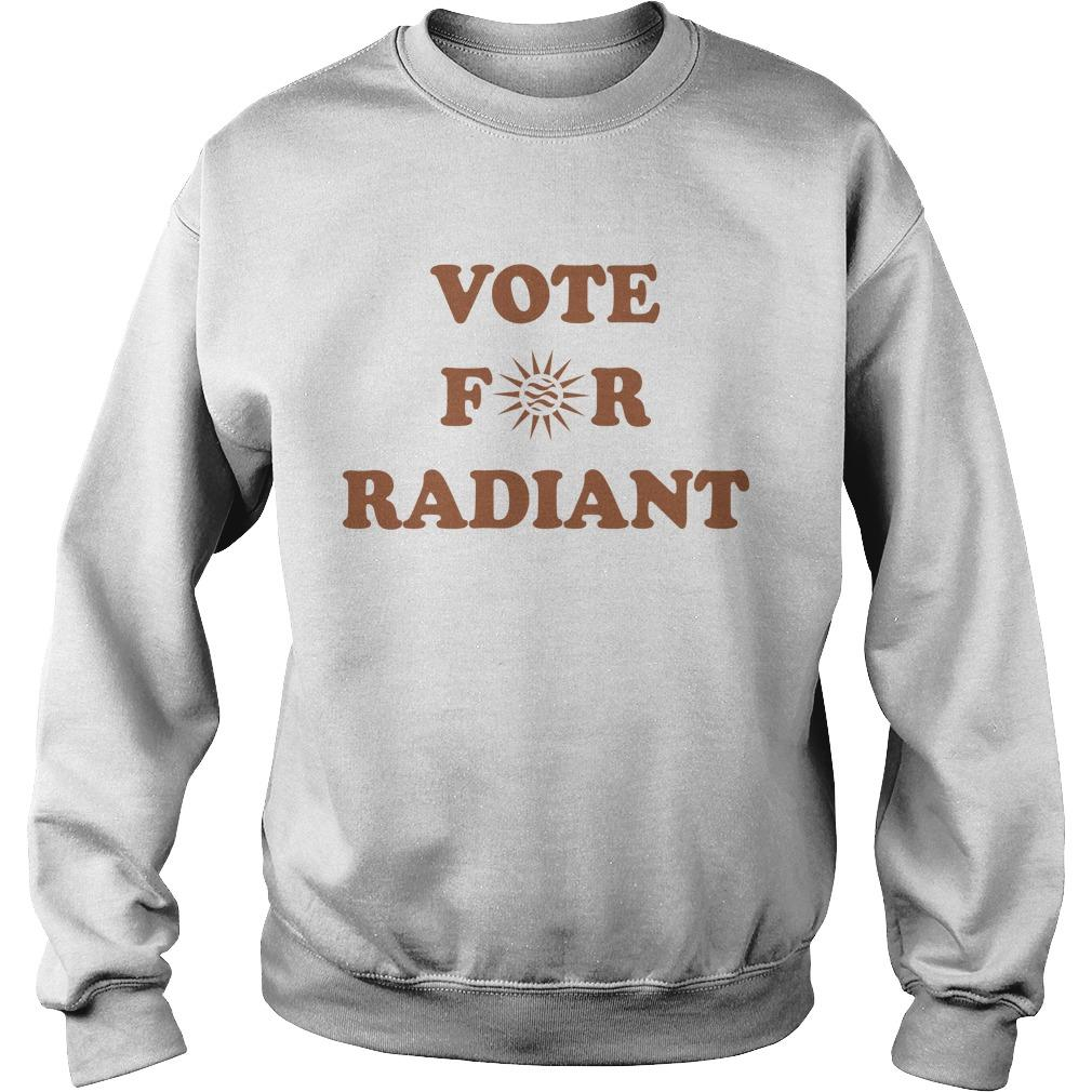 Radiant Plumbing And Air Conditioning Vote For Radiant Sweater
