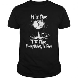 Raining Cat It's Fine I'm Fine Everything Is Fine Shirt