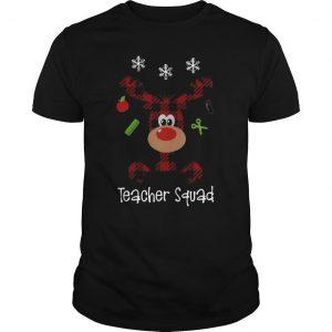 Reindeer Teacher Squad Shirt